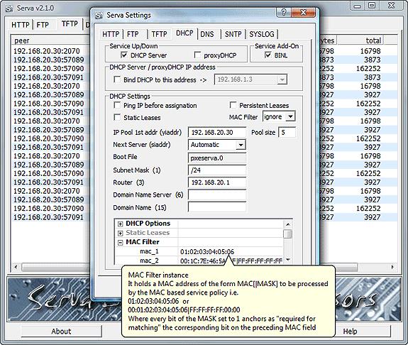 Serva64 full screenshot