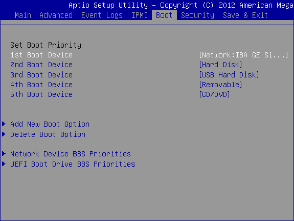 Serva PXE/BINL - AN01: Windows Network Install